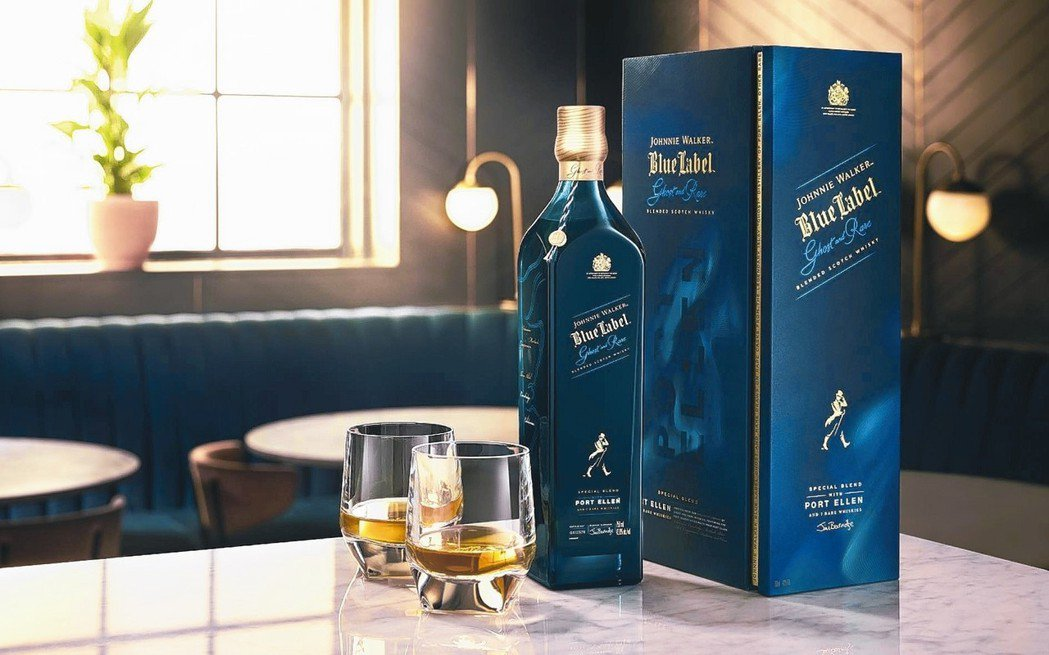第一章:JOHNNIE WALKER BLUE LABEL GHOST RARE...