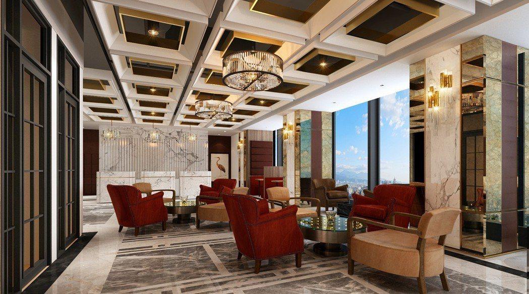 德事商務中心位於南山廣場37樓的共享辦公空間,7月即將正式公開。 圖/德事商務中...