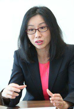 德事商務中心台港澳負責人劉春月 記者曾學仁/攝影