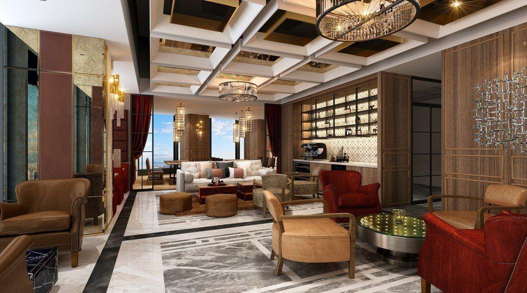 德事商務中心位於南山廣場37樓的共享辦公空間。 圖/德事商務中心提供