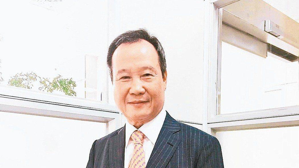 先進光電董事長林忠和。 本報資料照片