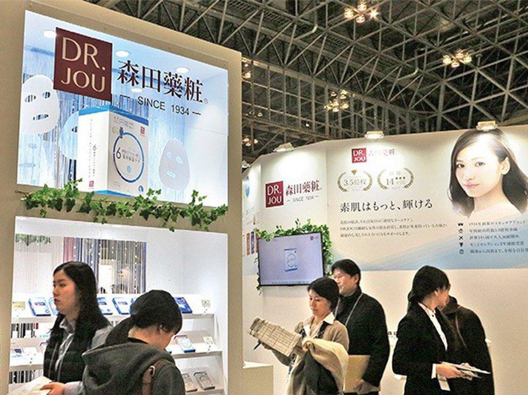 日本研發的森田藥粧面膜以務實接地氣,站穩日本極度競爭的美妝市場(照片摘錄自今周刊...