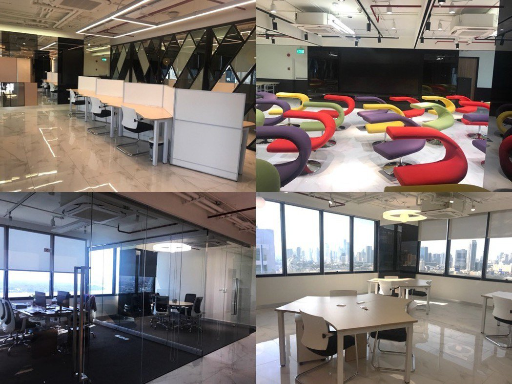 泰國曼谷新創Mashroom Co-Working Space共享辦公室空間與曼...