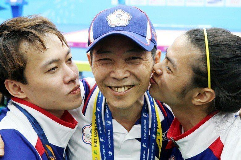 由左至右:林子琦、蔡溫義、許淑淨。 圖/聯合報系資料照