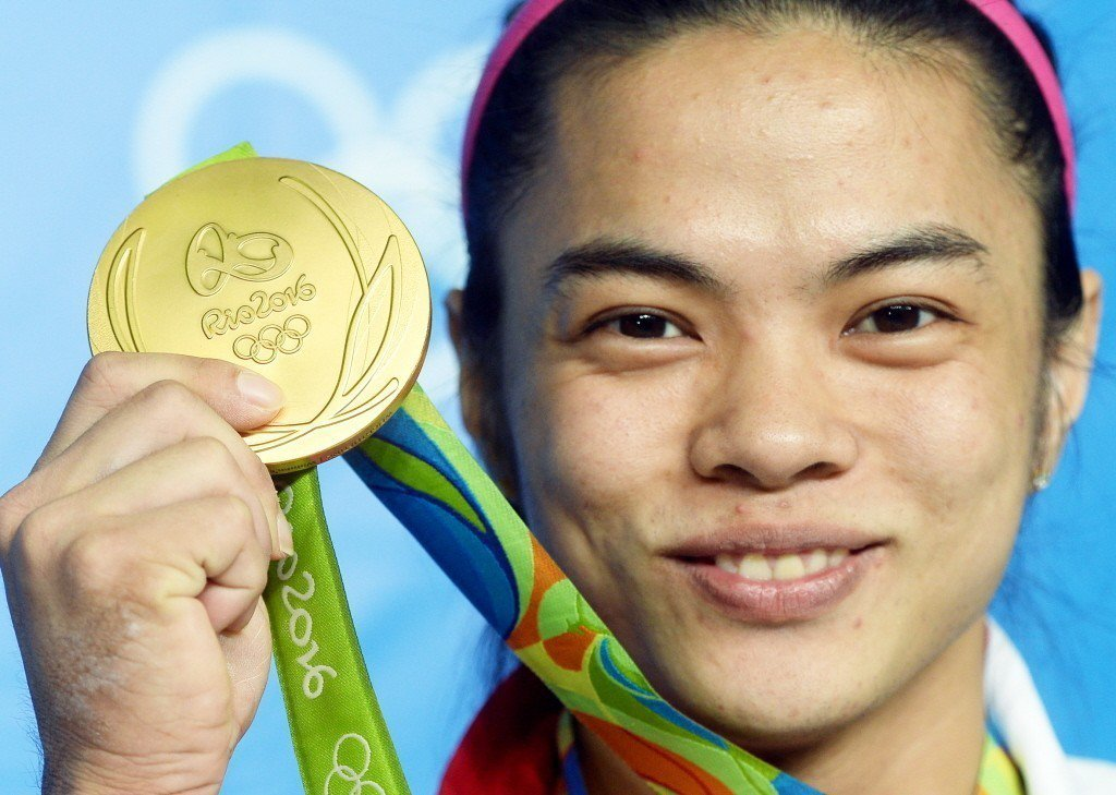 2016年,許淑淨奪下女子53公斤級奧運金牌。 圖/聯合報系資料照