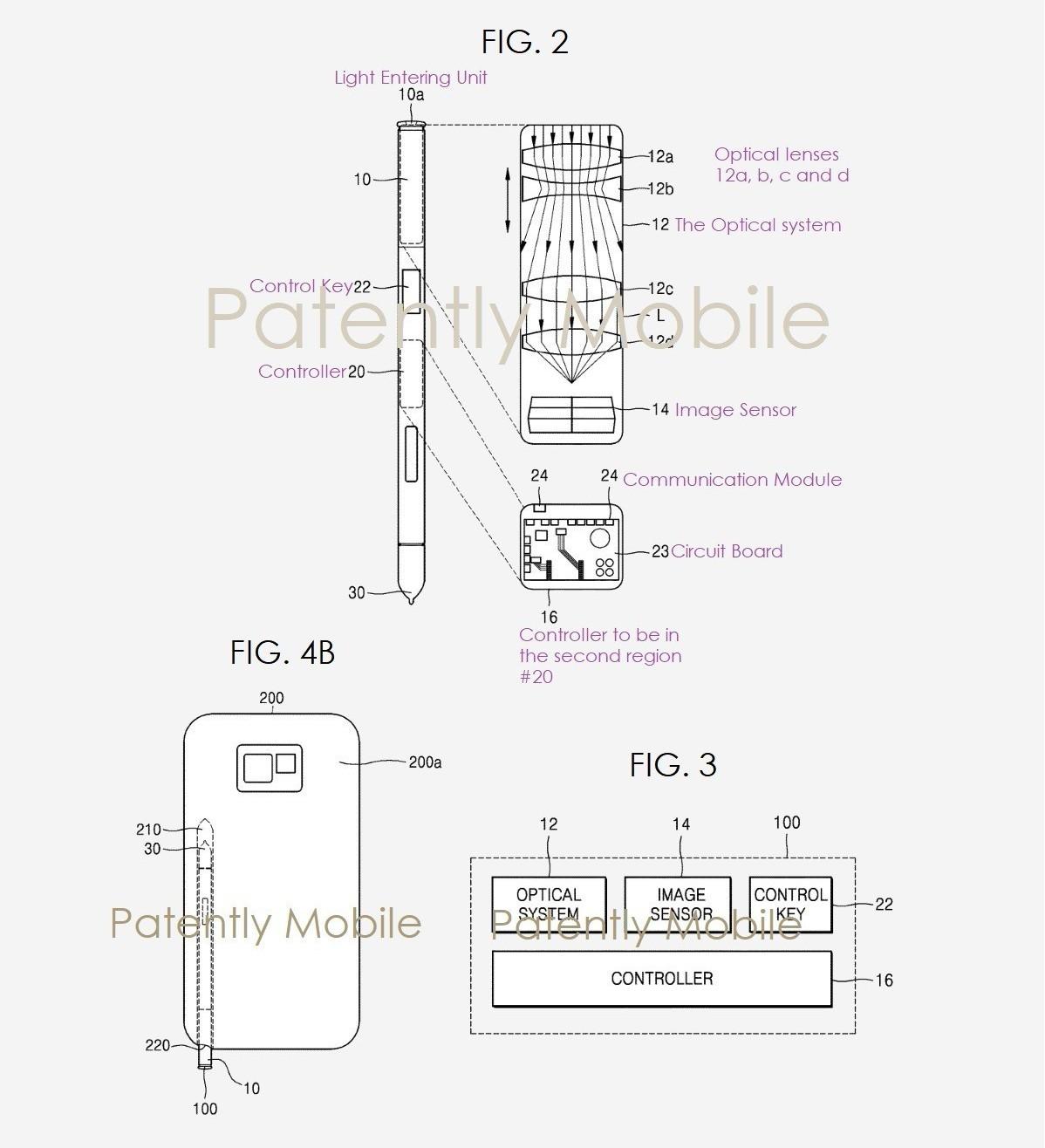 美國專利商標局於今年2月5日通過三星申請的電子專利。圖擷自/《patentlym...