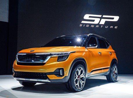 全新小型休旅是你? Kia SP Signature Concept首爾車展現身!