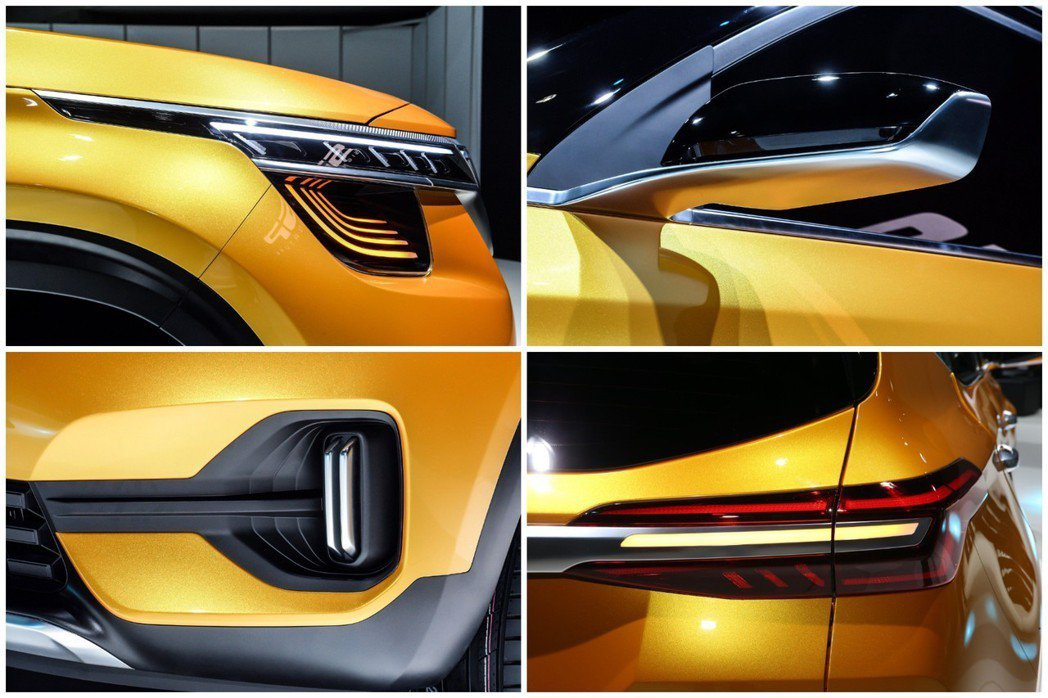 Kia SP Signature Concept外觀特色。 摘自Kia