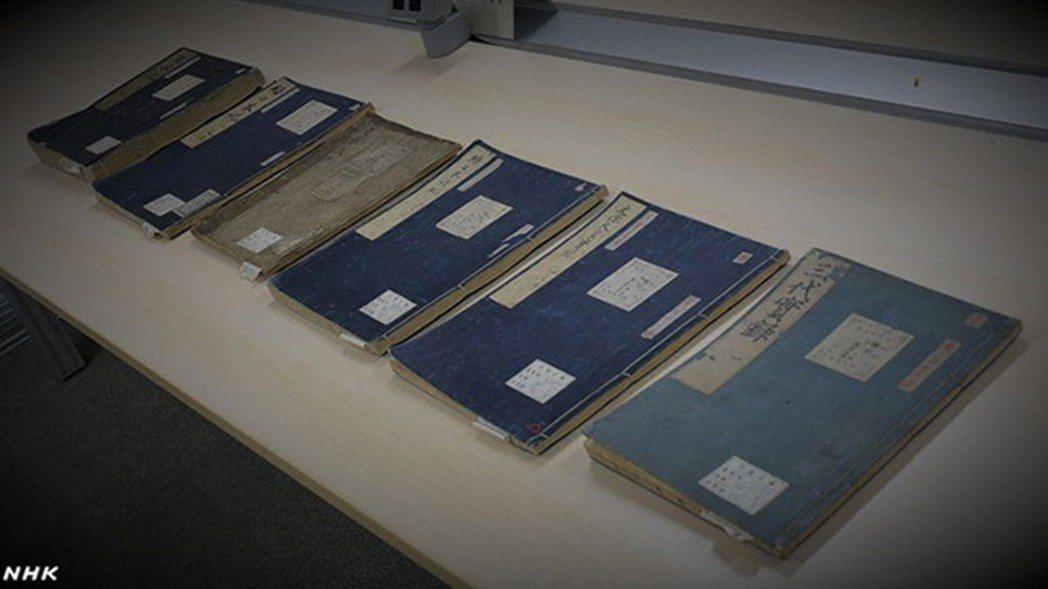 輿論也出現了希望改用日本古籍的聲音,圖為日本「六國史系列」經典。 圖/NHK
