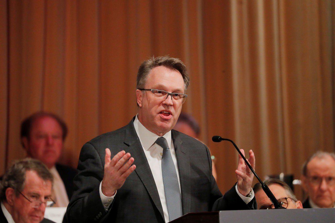 紐約聯邦準備銀行總裁威廉斯認為,美國經濟今年兩年陷入衰退的風險不高。 路透