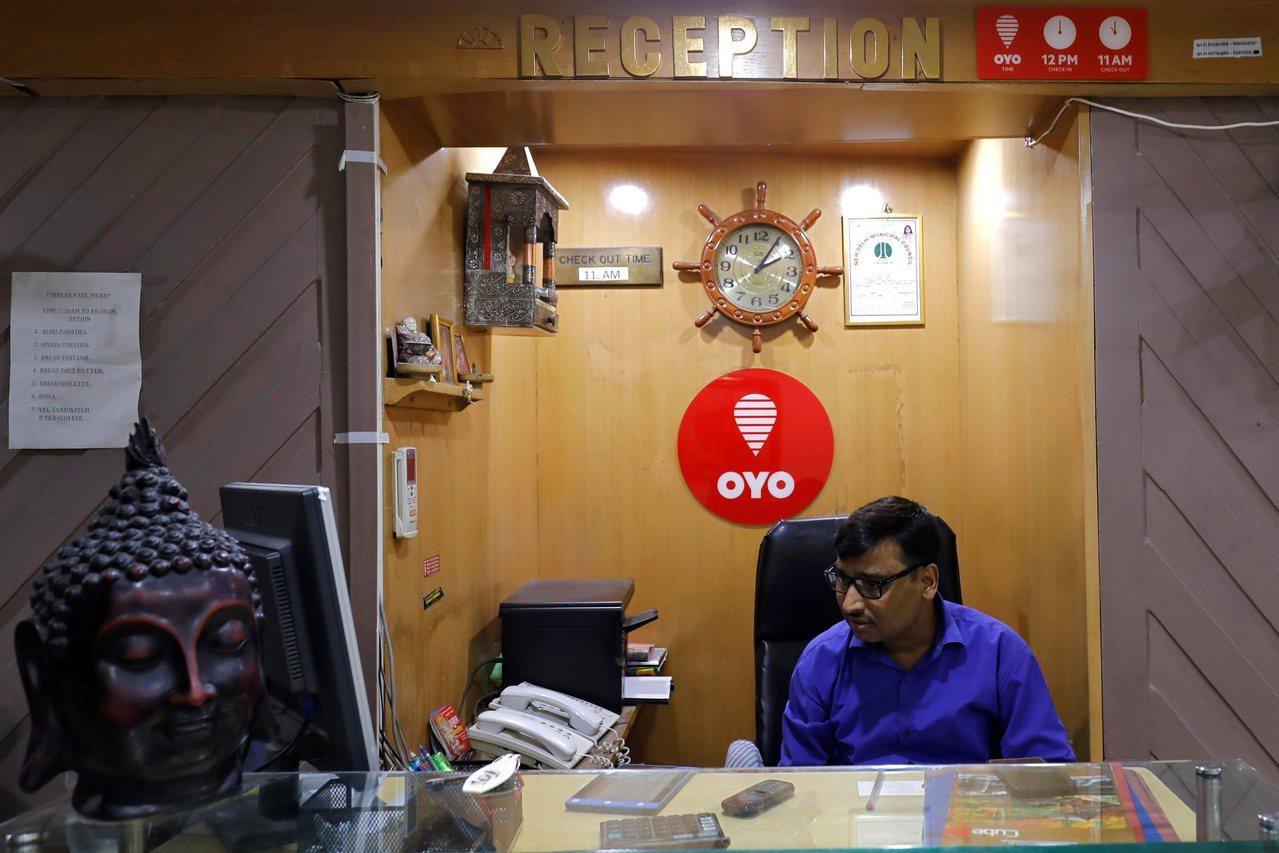 Oyo由爭取印度小型旅館加盟,成功切入市場。 路透