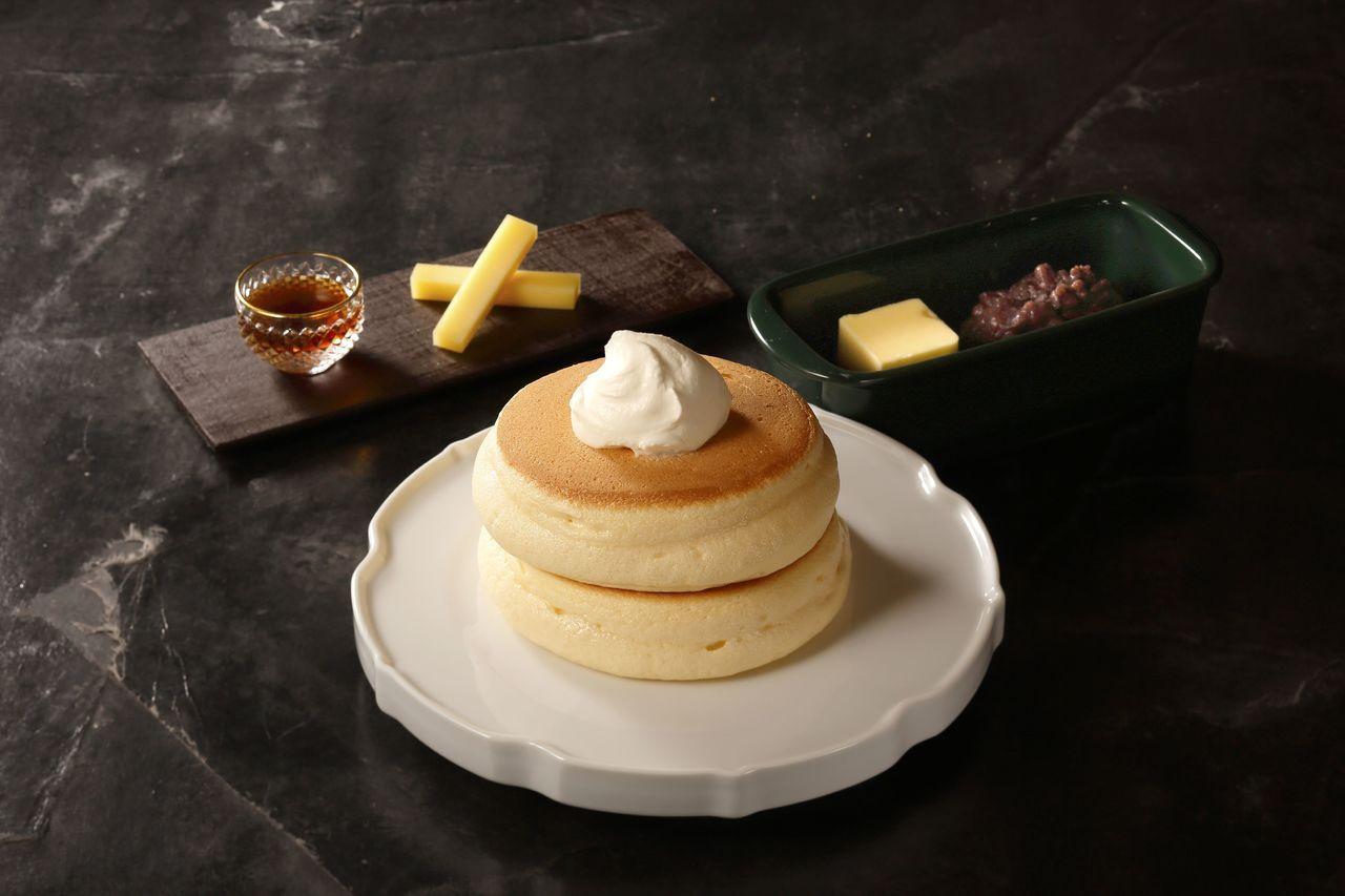 原味厚鬆餅。圖/台北晶華酒店提供