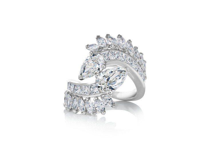 De Beers Cupid高級珠寶鑽石戒指,約340萬元。圖/De Beers...