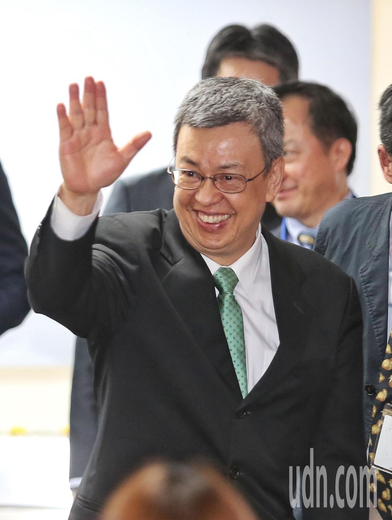 副總統陳建仁出席中央通訊社社慶。記者鄭清元/攝影