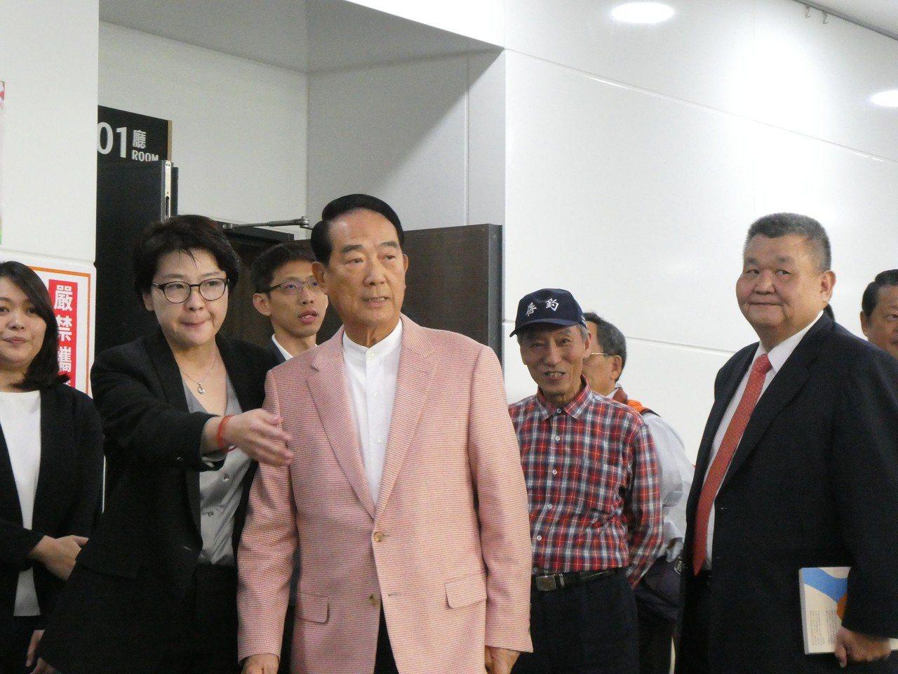 親民黨黨主席宋楚瑜。記者周志豪/攝影