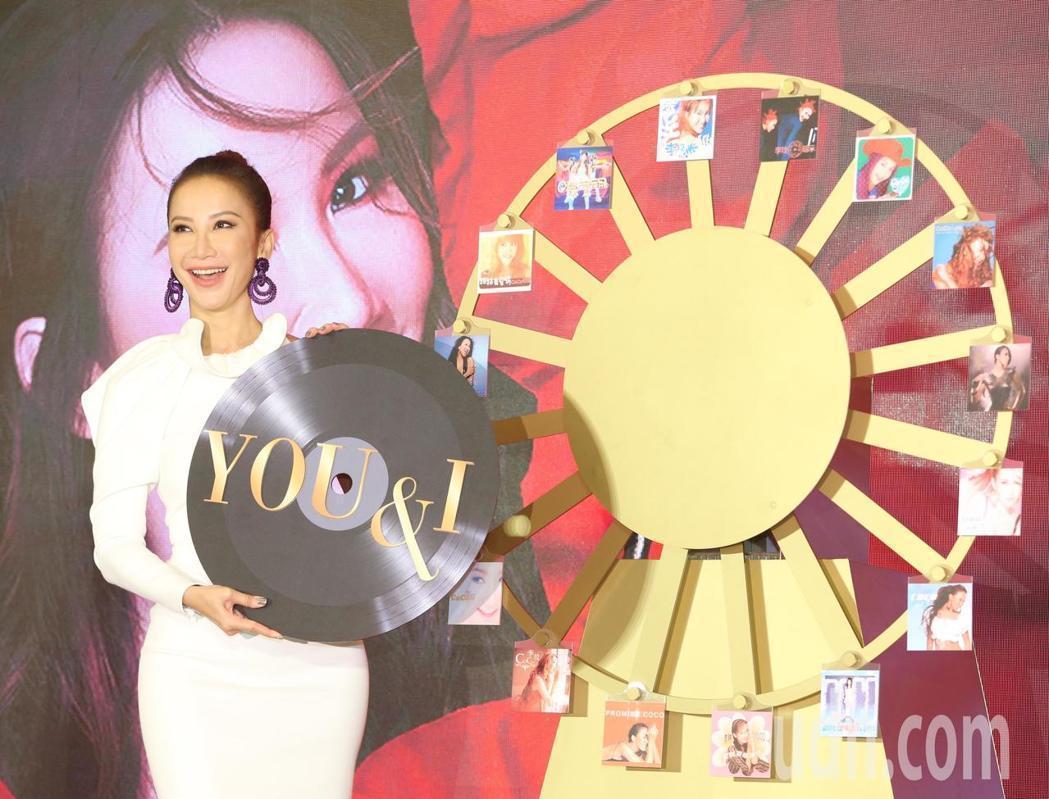 歌手李玟睽違多年將在六月到台北小巨蛋舉行出道25週年演唱會。記者王騰毅/攝影