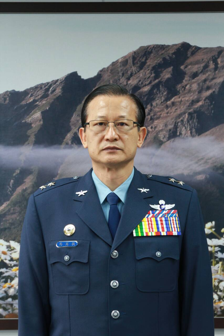 國防大學校長吳萬教,調任總統府戰略顧問。圖/國防部提供