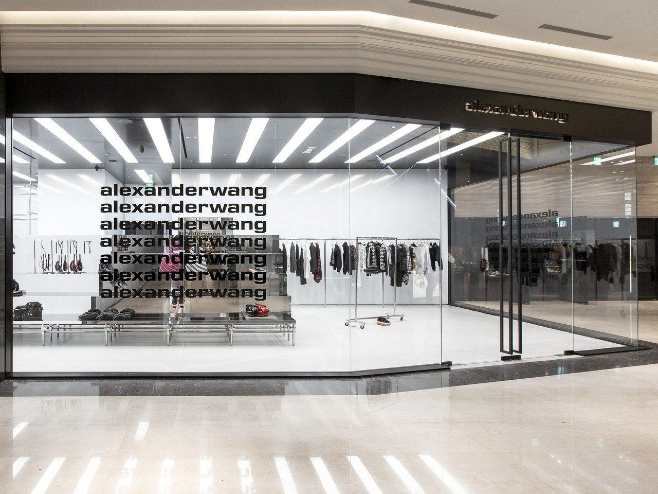 alexanderwang於台北微風南山開設台灣首家專門店。圖/alexande...