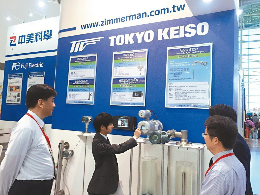 中美科學以精準量測做為台灣製造業掌控生產品質的重要幫手。 戴佑真/攝影