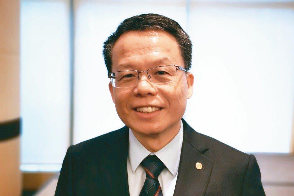 長榮航空總經理孫嘉明 記者韓化宇/攝影
