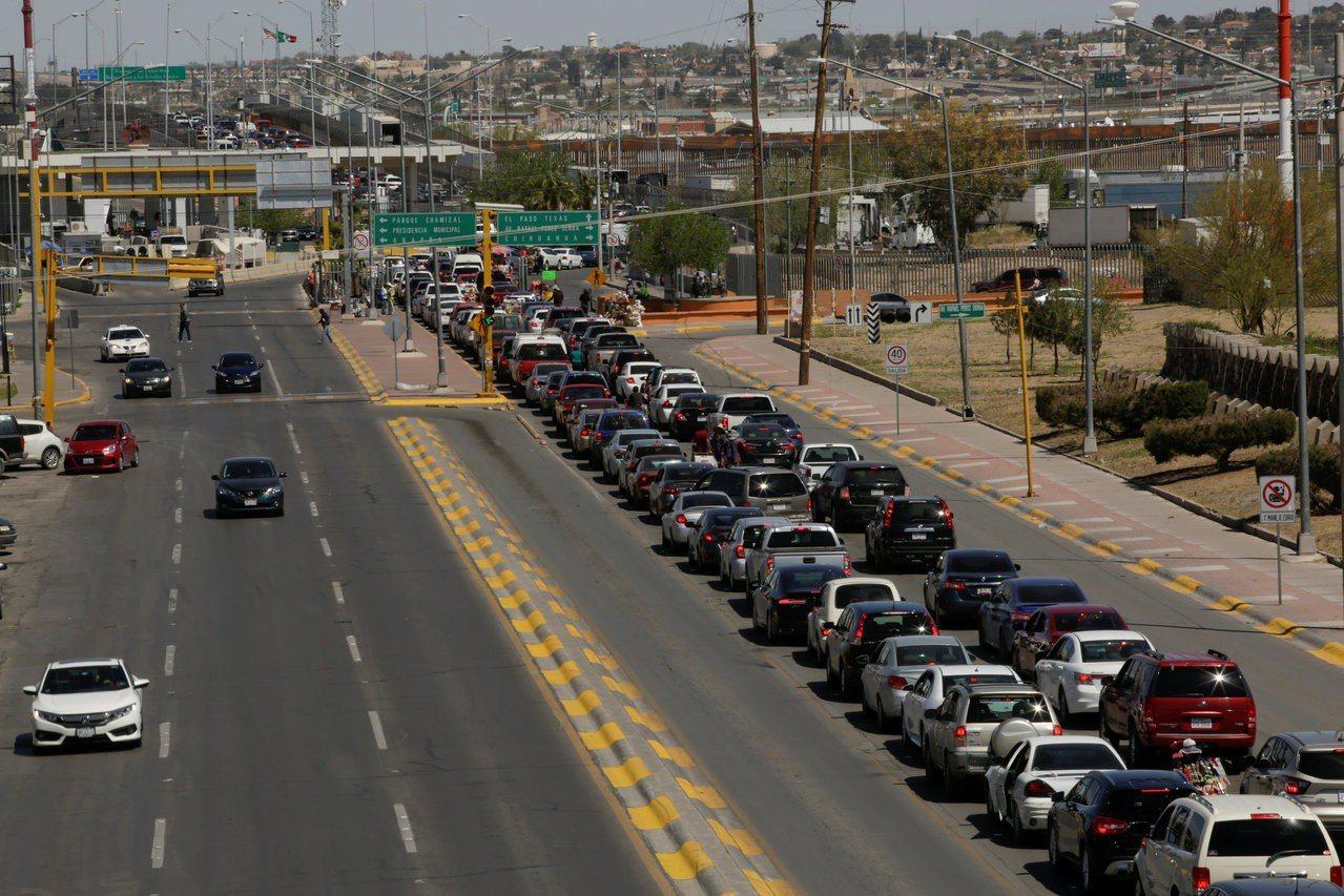 川普關閉美墨邊界的代價。 路透