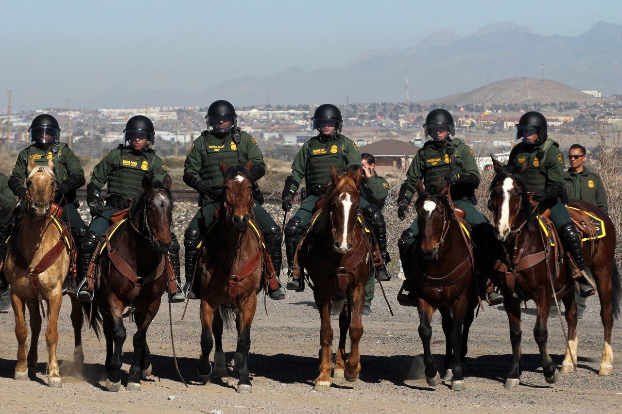 邊界巡邏隊員竟是無證客法官念其愛國輕判緩刑一年。 法新社