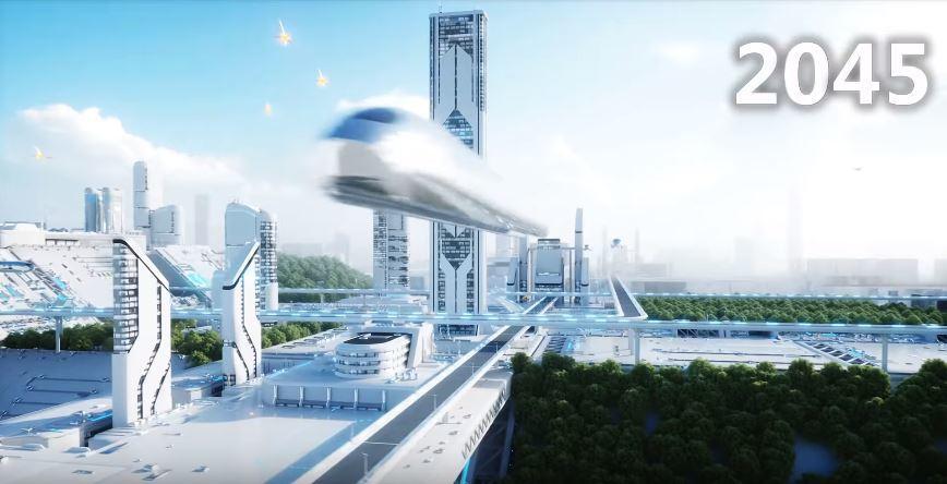 亞當表示未來地球將被AI人工智慧統一。 圖/youtube