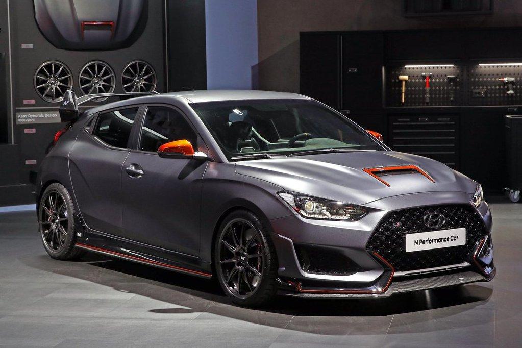 這真的是韓系車? Hyundai Veloster N+「N Performance套件」首爾車展帥氣登場!
