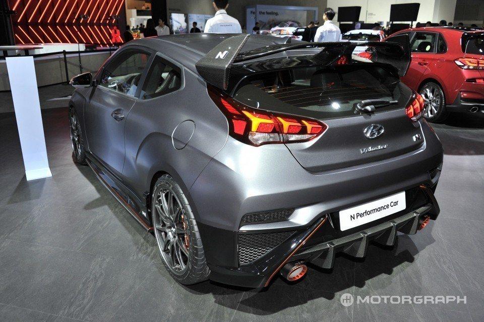 Hyundai Veloster N在換上全新N Performance套件後,...