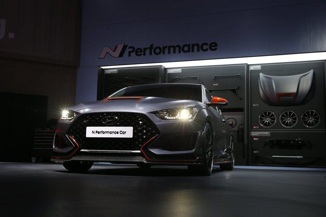 穿上全新N Performance套件的Hyundai Veloster N,目...