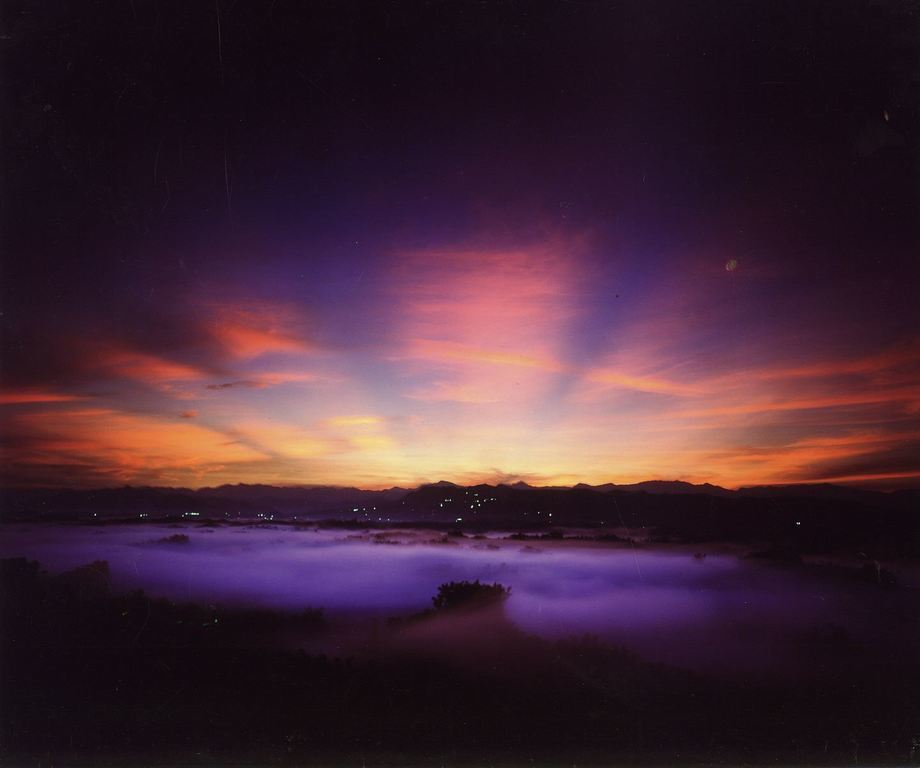 圖/「二寮日出」全台灣最低海拔的日出聖地。截自台南旅遊網。