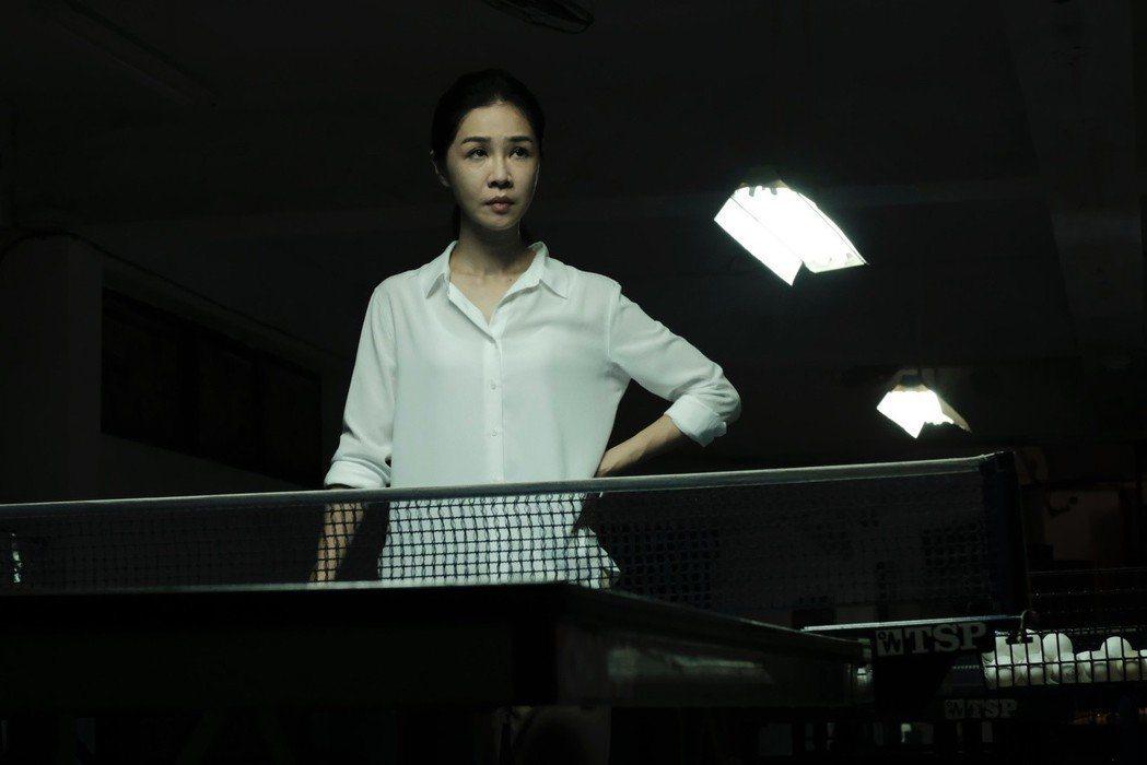 謝盈萱主演短片「媽媽桌球」拿下金穗獎優等獎。圖/前景提供