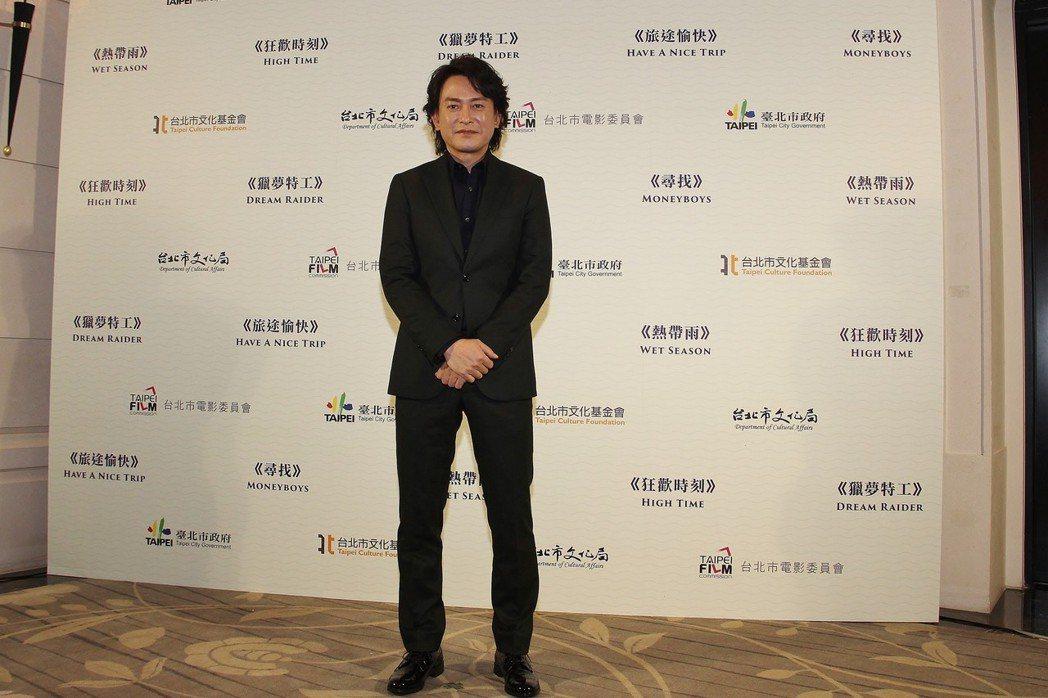 王識賢首度嘗試拍科幻劇,有不少新鮮體驗。圖/台北市電影委員會提供