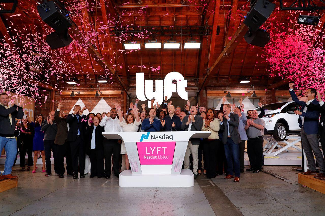 Lyft贏得投資人追捧,昨天上市首日大漲8.8%,也為美國今年上市第一大科技股贏...
