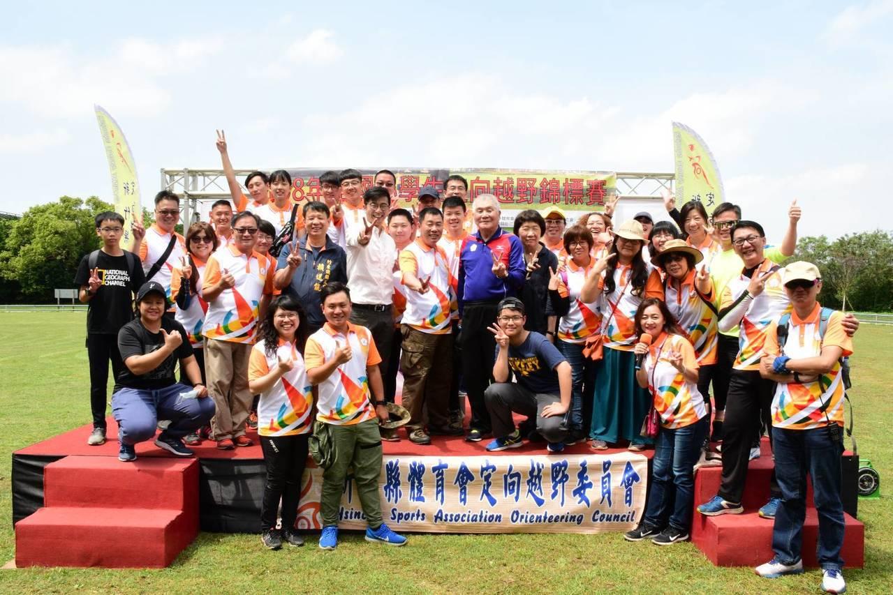 108年全國小學生定向越野錦標賽。圖/定向越野協會提供