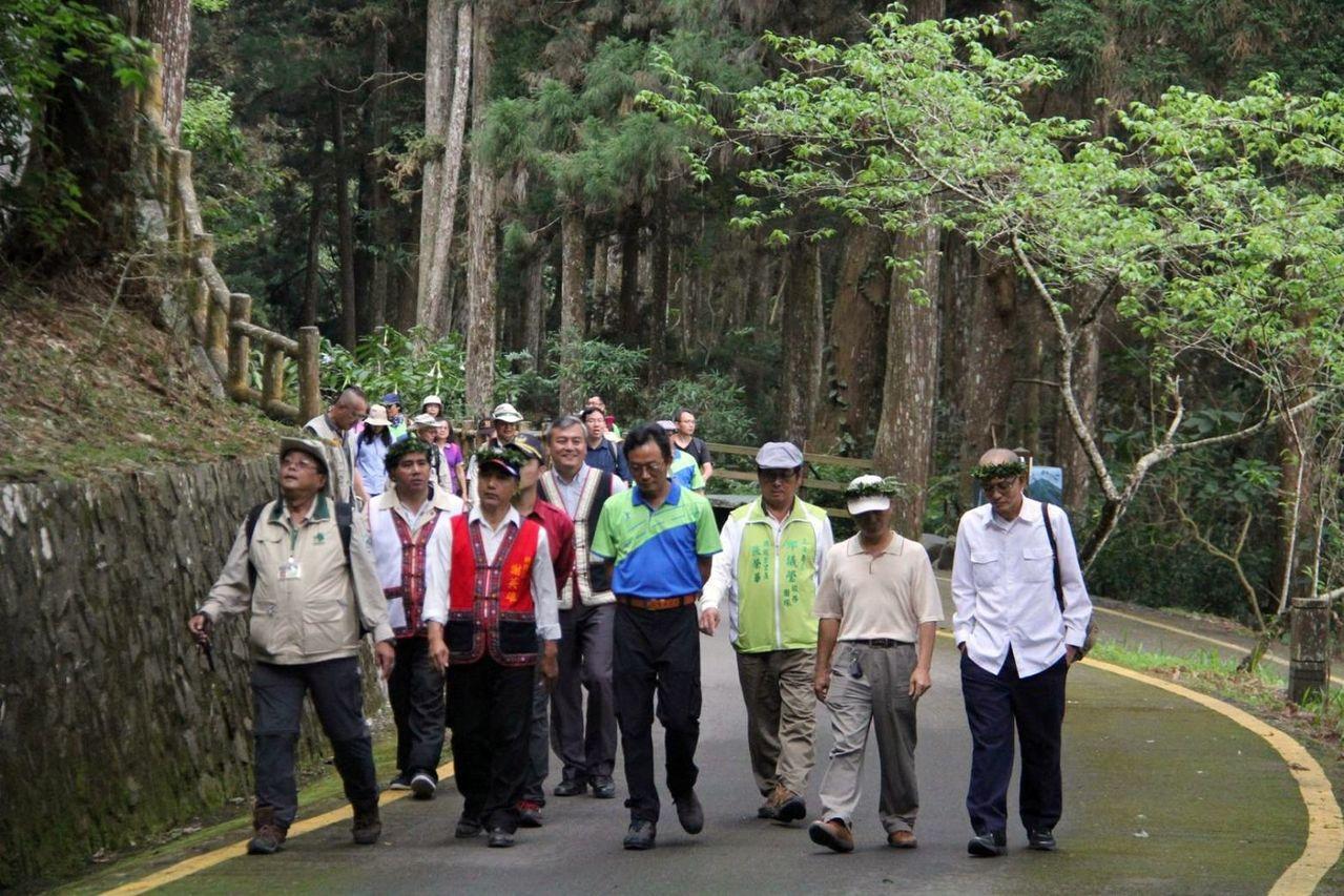 封園近10年的桃源區藤枝國家森林遊樂區今天將重新開園。記者王昭月/攝影