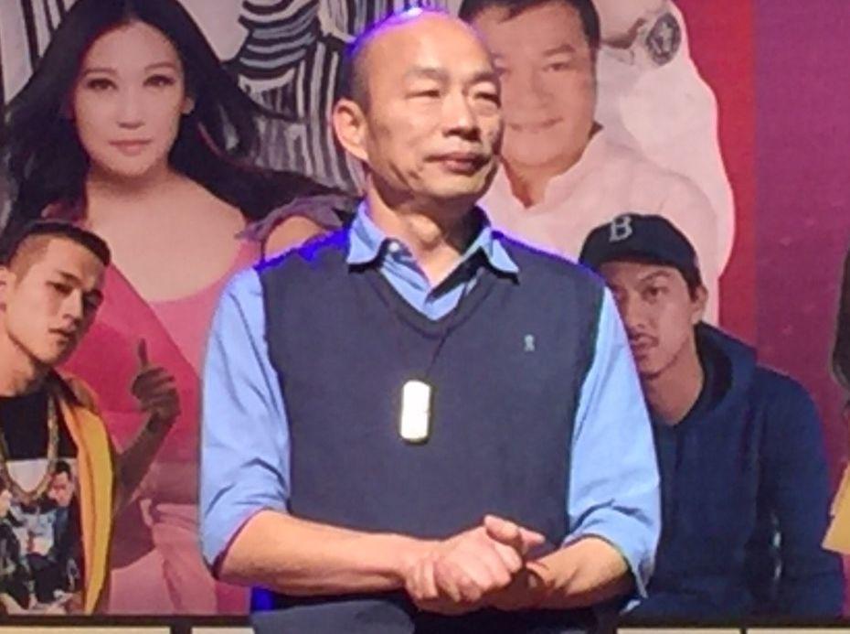 高雄市長韓國瑜將和國民黨主席吳敦義會面。對於參選總統之事,他今天這樣唱「堅持不考...