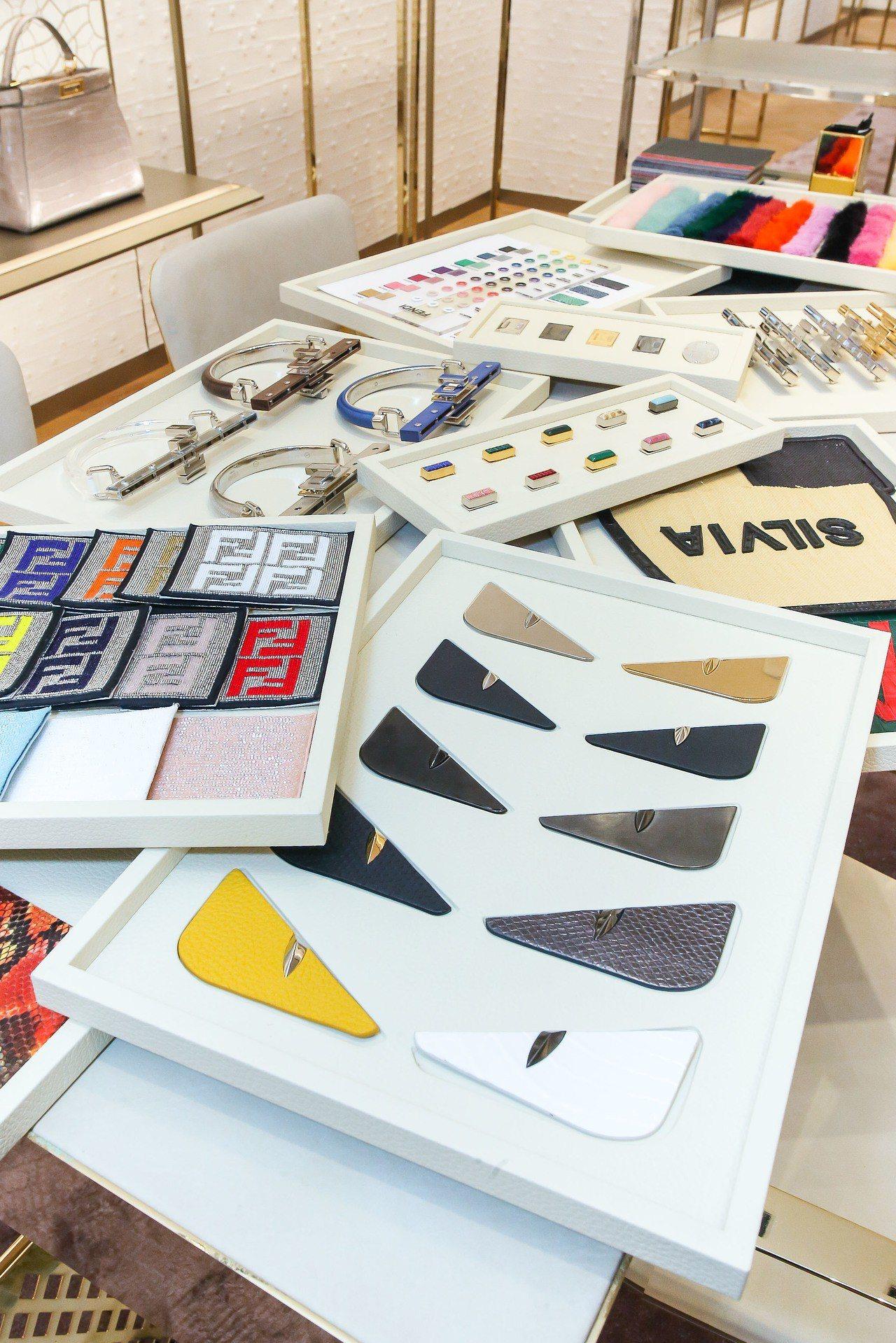 FENDI日前於台北101購物中心舉辦Peekaboo手袋訂製服務,是每年不定期...