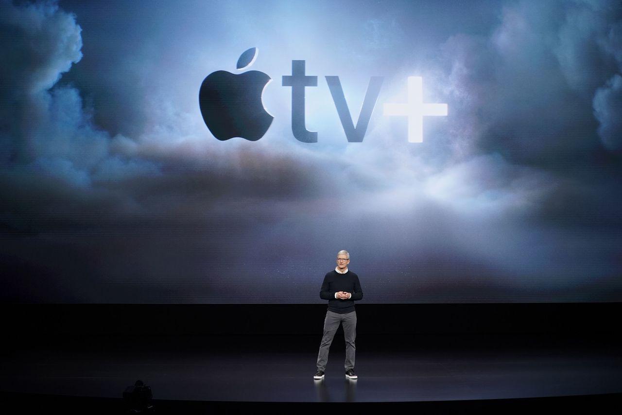 蘋果新發表的服務未達到市場的高期待,今年來20%的股價漲幅有回吐之虞。美聯社