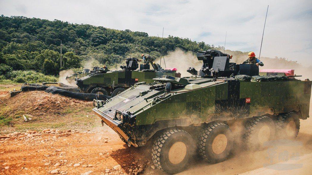國造雲豹裝甲車。圖/軍聞社