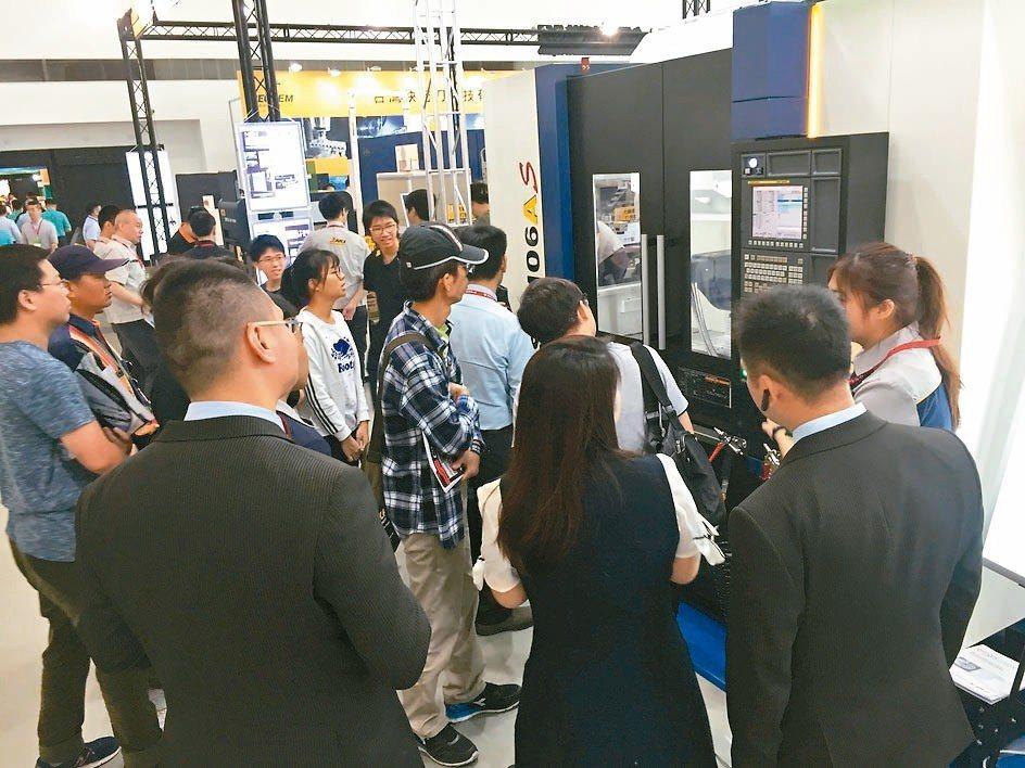 德士凸輪公司現場實機展出無背隙CNC數控分度盤、ATC 換刀機構與間歇性精密分割...