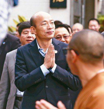 高雄市長韓國瑜被指2014年在北農簽訂1萬盒茶葉MOU後來實際只出貨700盒,對...