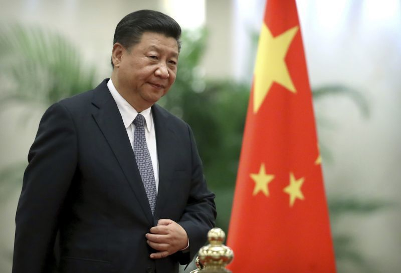 中共總書記習近平談到,中國特色社會主義是社會主義,而不是其他主義。 美聯社