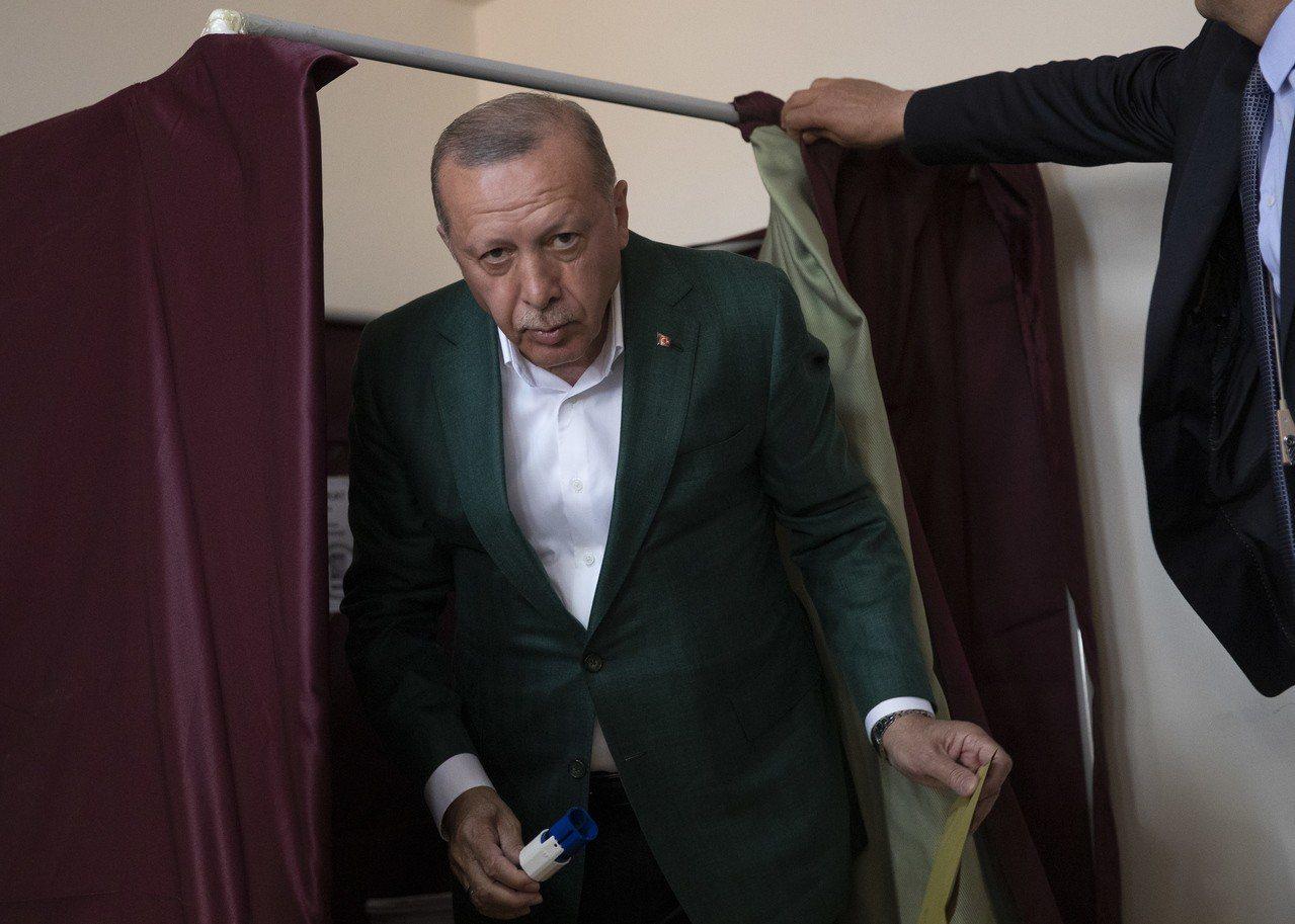 土耳其總統艾爾段去年擴大總統權力,此次地方選舉將是對他執政的重要檢驗。 歐新社