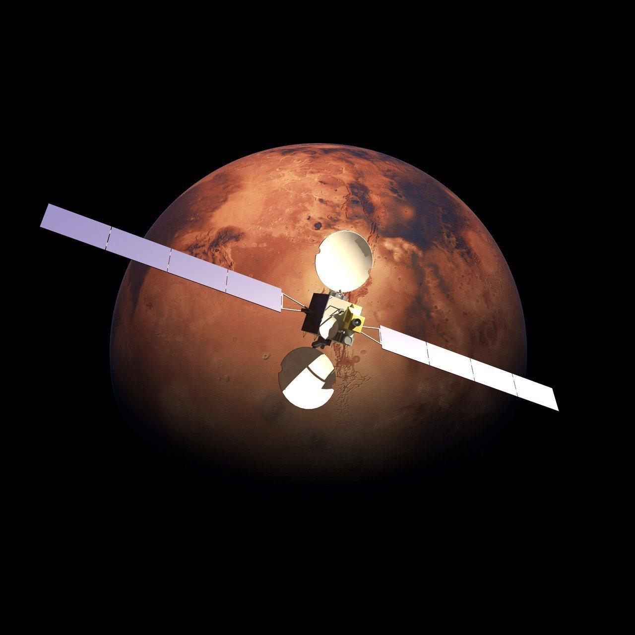 火星。 圖/ingimage