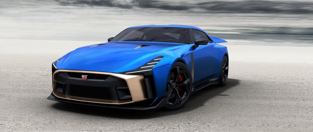 Nissan GT-R50 by Italdesign價格高達3,300萬台幣。...
