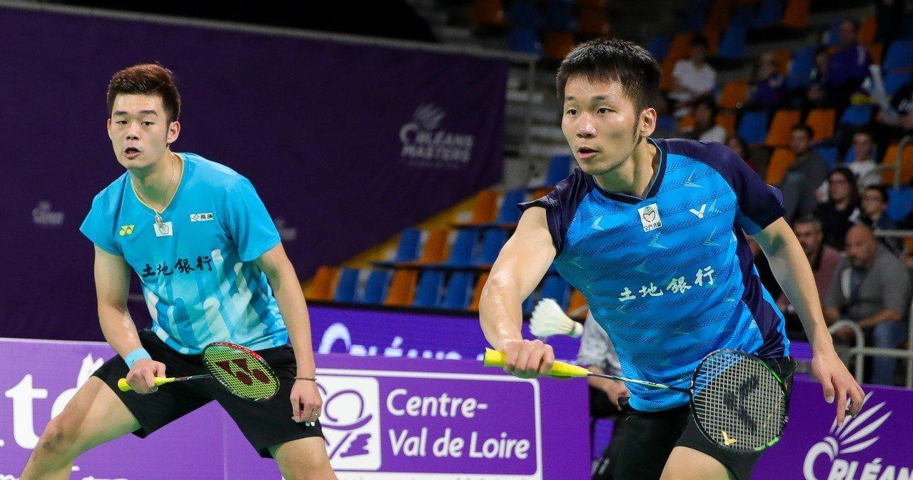 王齊麟(左)、李洋(右)。圖/Badminton photo提供(資料照)