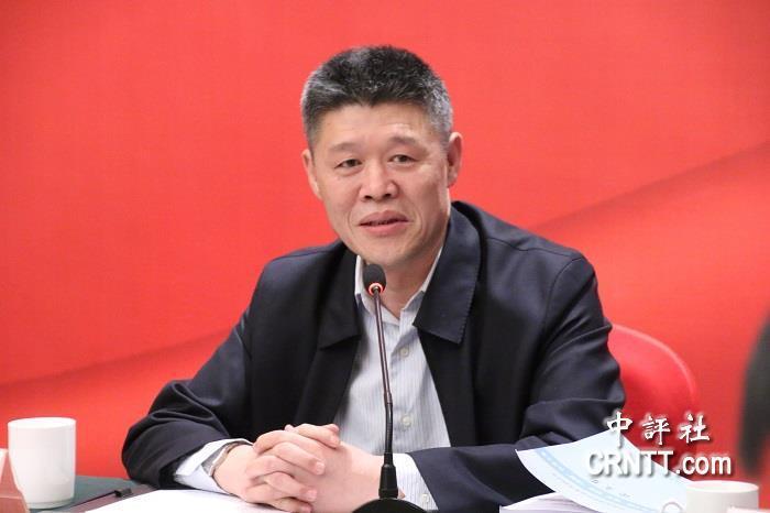 中共全國台灣研究會執行副會長王升。中評社