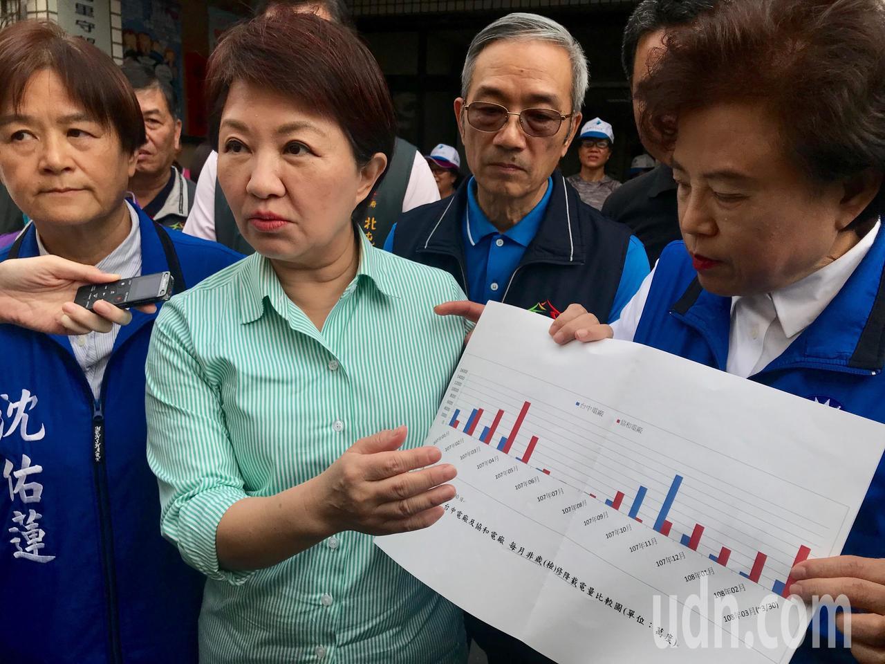 高雄市長韓國瑜高唱「我堅持不考慮2020」,台中市長盧秀燕(左二)說,馬前總統以...