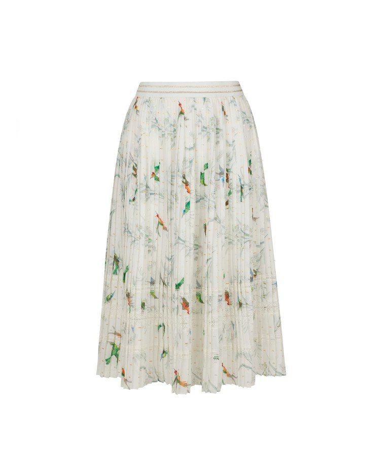 LINNET神秘花園印花長裙,9,280元。圖/TED BAKER提供